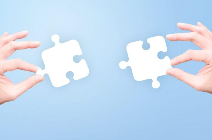 パズルの組み合わせ
